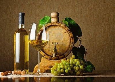 Белое вино фото 3